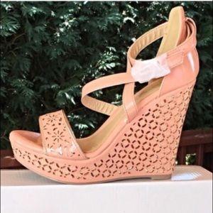 Shoes - NIB Adorable Light Pink Wedges